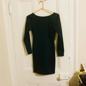 Amanda Uprichard Green Gigi Dress Size: Small